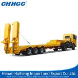 Fabrikant 3 Alxe 50 Ton 12 van Chhgc het Hete Verkopen van de Aanhangwagen van de Vrachtwagen van Lowboy van Wielen