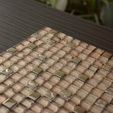 Azulejos de mosaico de cristal del oro de la alta calidad para la decoración de la pared