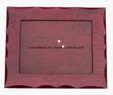 Marco de madera del alto final del lustre del palo de rosa