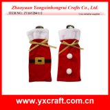 Saco del vino de la Navidad de la decoración de la Navidad (ZY14Y48-1-2)