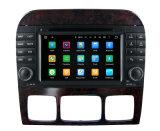 ベンツSのクラスW220 S280 1998-2005のマルチメディア・システムの運行GPSプレーヤー3G WiFi Btのためのアンドロイド5.1車DVD