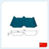 Стальной рифленый лист для крыши и стены