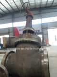 """API600 Class600 32の""""炭素鋼のゲート弁(Z541Y-600LB-32)"""