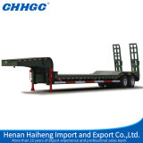 4 Radachsen 80 Tons Low Bed Semi Trailer mit Hydraulic Ladders für Sale