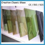 vetro riflettente di 4mm per il vetro della costruzione/il vetro costruttivo con Ce & ISO9001