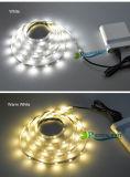 RGB blanco blanco cálido 1m iluminación de fondo de TV DC5V 5050 3528 USB LED tira de luz