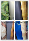 0.35mm 까만 역행 PVC 마루 Rolls
