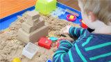 プラスチック城型の小型夏の砂浜のおもちゃ