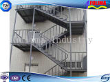 Лестница/трап/Stepstair с гальванизированной стальной структурой (SSW-S-003)