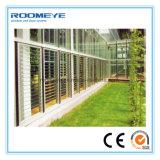 Окно алюминиевого окна Roomeye стеклянное, окно жалюзиего