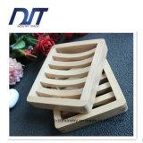 Rectángulo de madera del jabón de la colada del cuarto de baño hecho a mano al por mayor del plato