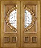 外部の木のドア、固体木のドア、出入口の純木のドア