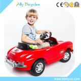 RCの車の赤のベンツの電気おもちゃの子供の赤ん坊の乗車
