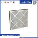 Filtre à air plissé en tissu non tissé pour purification de l'air