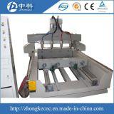 4つの軸線4スピンドル回転式接続機構CNCのルーター