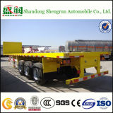 3 Radachse 40FT 45FT Container Chassis Flatbed Lowbed Semi Trailer