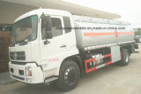 유조선이 4X2에 의하여 LHD & Rhd 15 톤 16 톤 판매를 위한 연료 탱크 급유한다