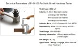 Pin Static Brinell Testeur de dureté / Duromètre portable Brinell / Brinell Tester / Brinell Testeur de dureté / Testeur de dureté / Essai Usinage / Équipement de laboratoire