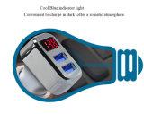 Заряжатель автомобиля USB высокого качества двойной с индикацией СИД напряжение тока батареи