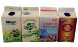 6-laag 450ml Karton het Met geveltop van de Yoghurt met Aluminiumfolie