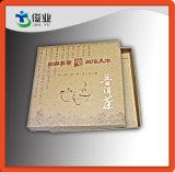 Rectángulo de papel del color natural para el embalaje del té