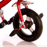 3 Farben-Stahlrahmen-materielles Baby-Spaziergänger-Dreirad für Kinder