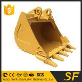 A cubeta da máquina escavadora de Sf parte a cubeta de pedra resistente de Xzshenfu com dentes da rocha