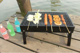 Il BBQ d'profilatura portatile cuoce il forno alla griglia della stufa del carbone di legna del barbecue dello strumento