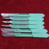 使い捨て可能な引き込み式の安全外科メスの刃