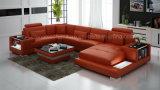 Мебель комнаты самомоднейшей конструкции высокого качества G8023 живущий с светом СИД и конструкцией хранения