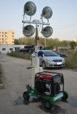 Torre ligera telescópica de elevación manual de la gasolina los 5m de Honda