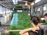Bobina de aço PPGI de madeira da cor do preço do competidor para a folha da telhadura