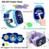 접촉 스크린 D25를 가진 방수 아이 GPS 추적자 시계