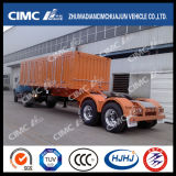 Cimc Huajun High Tensile Steel 2axle 밴 또는 Box Semi Trailer