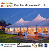 Wedding Mixed Marquee con High Peak Roof