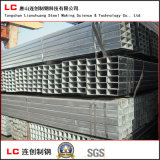 Dipped caliente Galvanized Rectangular Steel Pipe para Structure Use