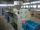 PE PVC Double Wall Corrugated Pipe Extruder