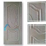 Línea convexa piel del doble de la buena calidad de la puerta de HDF
