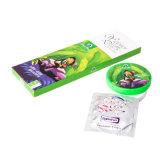 3PCS tamaño normal 52mm condones súper delgado juguetes de sexo real sentimiento para condones hombres