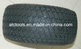 Llantas de aluminio de la rueda del jardín del césped del césped sin cámara Neumático Slick