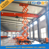 Scissor idraulico Lift Table Cargo Lift Table con Ce
