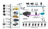 Barato 4 sistema móvel do carro DVR da canaleta com câmera e cartão do SD