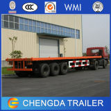 Förderwagen Trailer 40t Flatbed Semi Trailer/Container Semi Trailer für Sale