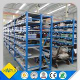 Unidades claras do Shelving da cremalheira do armazém do dever