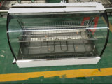 Vetrina dello scaldavivande/vetro curvo che scalda lo scaldino d'acciaio Hw-838-3 di Displayer /Stainless