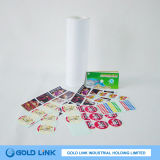 Alto papel de etiqueta adhesivo de la etiqueta engomada de Golss