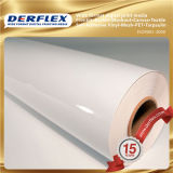 PVC 물자와 바디 스티커 사용 백색 자동 접착 비닐
