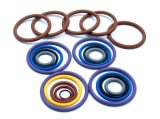 Rubber su ordinazione Round Seal O Rings con Different Materials/Size