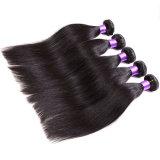 O cabelo reto brasileiro do Virgin da classe 7A empacota o cabelo reto da benevolência reta brasileira preta natural do cabelo do Virgin