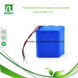 18650 pacchetto della batteria dello Li-ione di 4s2p 14.8V 5200mAh per lo strumento medico